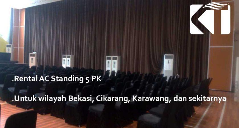 Rental AC Standing 5 PK Cikarang